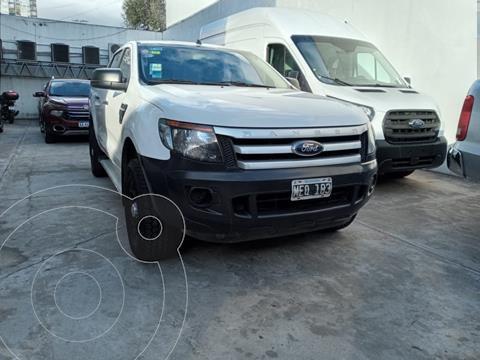Ford Ranger XL 2.5L 4x2 CD Safety usado (2013) color Blanco Oxford precio $1.880.000