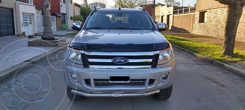 Ford Ranger Limited 3.2L 4x4 TDi CD  usado (2015) color Gris Mercurio precio $3.490.000