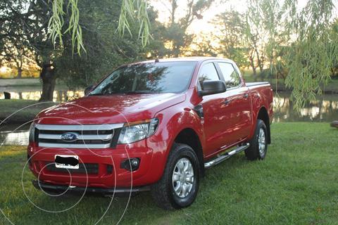 Ford Ranger XLS 3.2L 4x4 TDi CD  usado (2014) color Rojo Bari precio $2.400.000