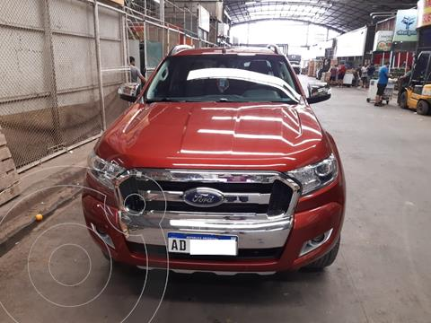 Ford Ranger Limited 3.2L 4x4 TDi CD usado (2018) color Rojo Bari precio $3.750.000
