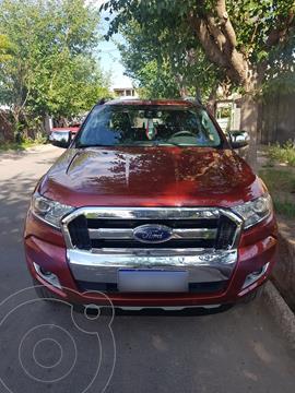 Ford Ranger Limited 3.2L 4x4 TDi CD usado (2018) color Rojo Bari precio $3.950.000