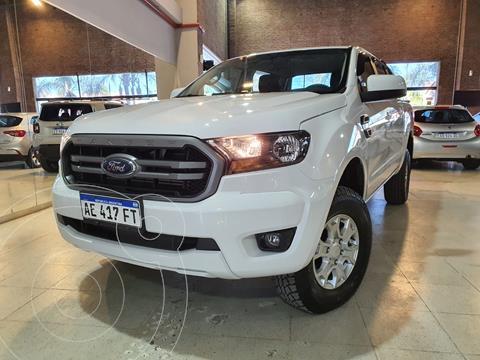 Ford Ranger XLS 3.2L 4x4 TDi CD usado (2020) color Blanco Oxford financiado en cuotas(anticipo $2.310.000)