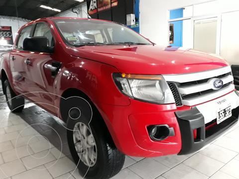 Ford Ranger XLT 3.2L 4x4 TDi CD usado (2012) color Rojo financiado en cuotas(anticipo $1.245.000)
