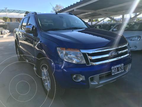 Ford Ranger XLT 3.2L 4x4 TDi CD Aut usado (2013) color Azul precio $2.510.000