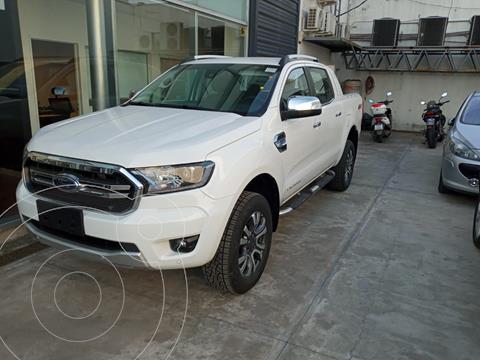 Ford Ranger Limited 3.2L 4x4 TDi CD Aut nuevo color Blanco financiado en cuotas(anticipo $3.800.000 cuotas desde $59.000)