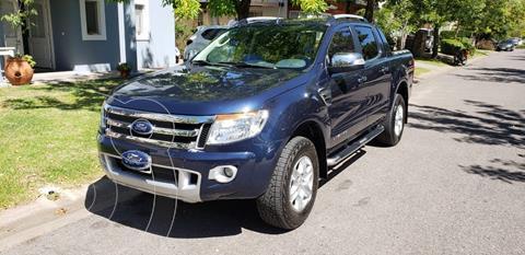 Ford Ranger Limited 3.2L 4x4 TDi CD Aut 2015/2016 usado (2015) color Azul precio $2.750.000
