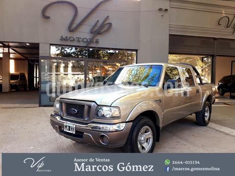 Ford Ranger XLT 3.0L 4x2 TDi CD usado (2007) color Dorado precio $1.100.000