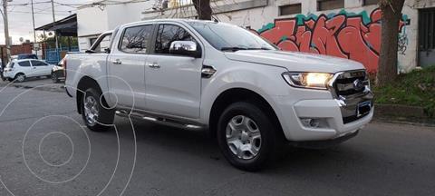 Ford Ranger XLT 3.2L 4x2 TDi CD usado (2017) color Blanco precio $3.490.000