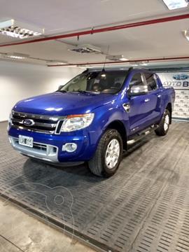Ford Ranger Limited 3.2L 4x4 TDi CD Aut usado (2015) color Azul precio $2.700.000