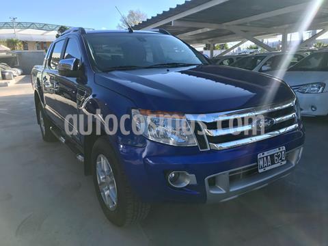Ford Ranger XLT 3.2L 4x4 TDi CD Aut usado (2013) color Azul precio $2.210.000