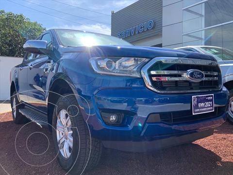 Ford Ranger Elija una version usado (2021) color Azul Electrico precio $729,500