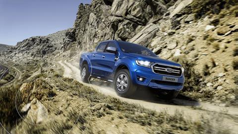 Ford Ranger XLT Gasolina 4x2  nuevo color Azul Relampago financiado en mensualidades(mensualidades desde $8,789)