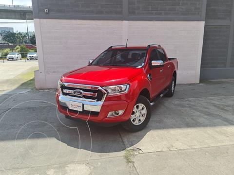 Ford Ranger XLT Diesel 4x4 Cabina Doble usado (2019) color Rojo Manzana precio $580,000