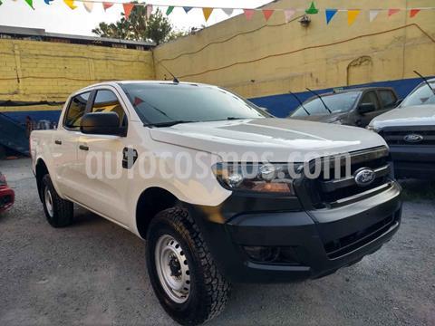 Ford Ranger XL Cabina Doble Ac usado (2017) color Blanco precio $260,000