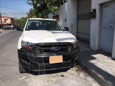 Ford Ranger XL Gasolina Cabina Doble usado (2017) color Blanco precio $285,000