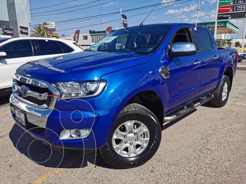 Ford Ranger XLT gasolina 4x2 Cabina Doble usado (2019) color Azul Espacio precio $400,000
