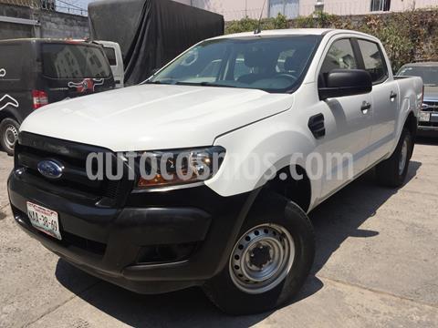 Ford Ranger XL Cabina Doble Ac usado (2017) color Blanco precio $269,900