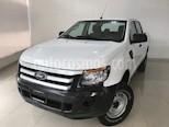 Foto venta Auto usado Ford Ranger XL Cabina Doble Ac (2017) color Blanco precio $299,900