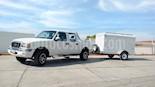Foto venta Auto usado Ford Ranger XL Cabina Regular LWB Ac (2008) color Blanco precio $132,000