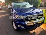 Foto venta Auto usado Ford Ranger XLT Gasolina 4x2 Cabina Doble (2017) color Azul Espacio precio $320,000