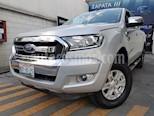 Foto venta Auto usado Ford Ranger XLT Gasolina 4x2 Cabina Doble (2017) color Plata Metalico precio $365,000