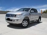 Foto venta Auto usado Ford Ranger XLT Gasolina 4x2 Cabina Doble (2014) color Plata Metalico precio $248,000