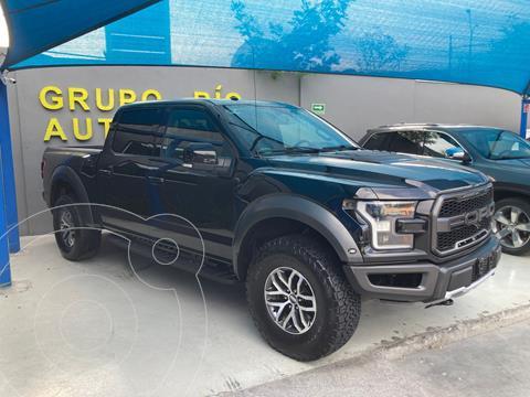 Ford Raptor Raptor Doble Cabina 4x4 usado (2018) color Negro precio $1,090,000