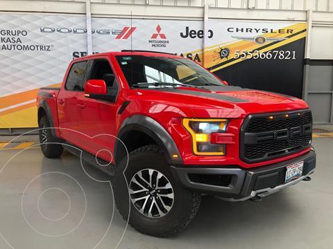 Ford Raptor Raptor Doble Cabina 4x4 usado (2019) color Rojo precio $1,299,000