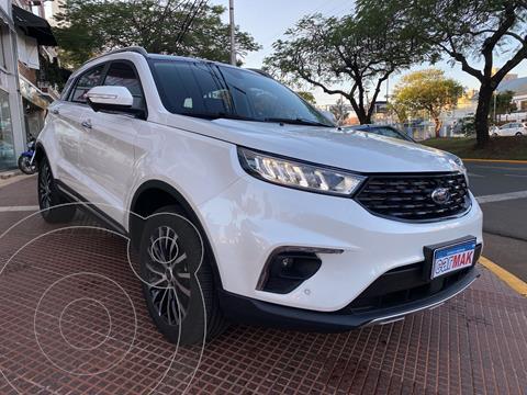 Ford Territory Titanium 1.5L usado (2021) color Blanco financiado en cuotas(anticipo $3.060.000)