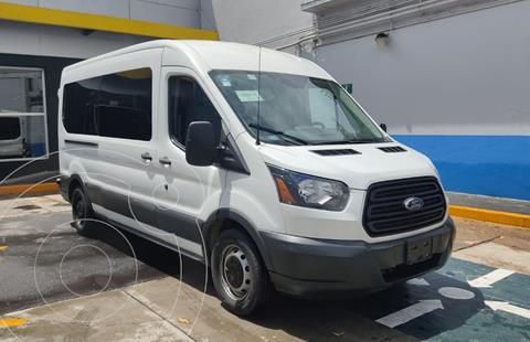 Ford Transit Custom Pasajeros Larga Techo Alto usado (2017) color Blanco Nieve precio $440,000