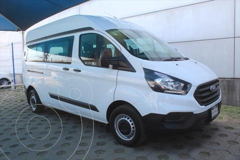 Ford Transit Custom VAN Larga Techo Alto Aa usado (2019) color Blanco precio $550,000