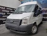 Foto venta Auto usado Ford Transit Diesel 15 Pasajeros (2013) color Blanco precio $190,000