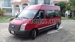 Foto venta Auto usado Ford Transit Diesel Pasajeros (2013) color Rojo precio $248,000