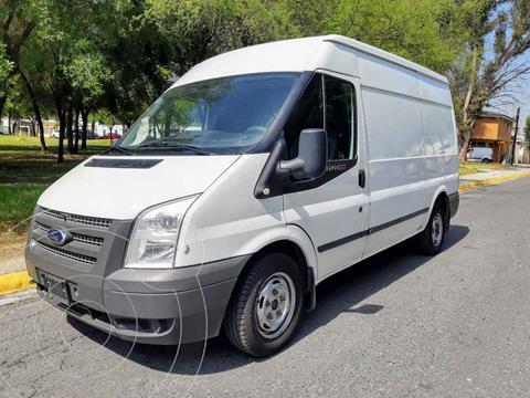 Ford Transit Diesel Van Jumbo usado (2013) color Blanco precio $225,000