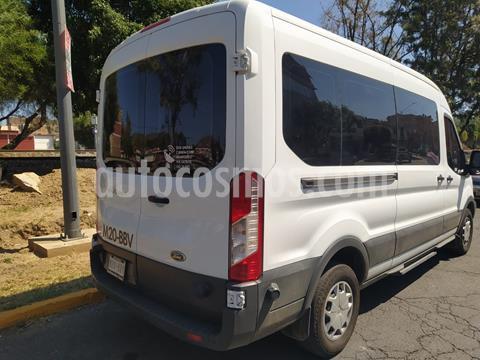 Ford Transit Diesel 15 Pasajeros usado (2019) color Blanco precio $508,000