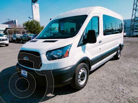 Ford Transit Diesel 15 Pasajeros usado (2019) color Blanco precio $765,000