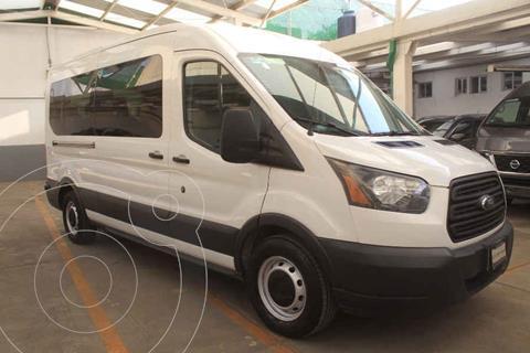 Ford Transit Diesel Bus 15 Pasajeros usado (2017) color Blanco precio $495,000