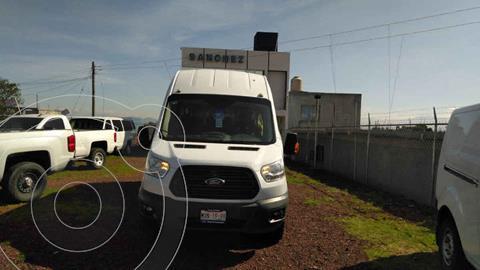 Ford Transit Diesel Bus 18 Pasajeros usado (2016) color Blanco precio $419,000