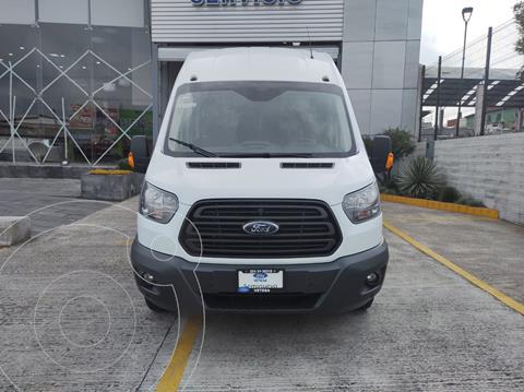 Ford Transit Diesel 18 Pasajeros usado (2019) color Blanco precio $690,000