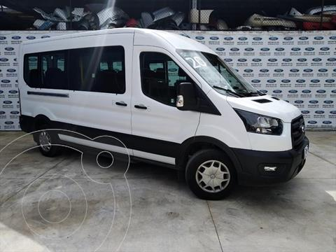 Ford Transit Gasolina 15 Pasajeros usado (2019) color Blanco precio $600,000