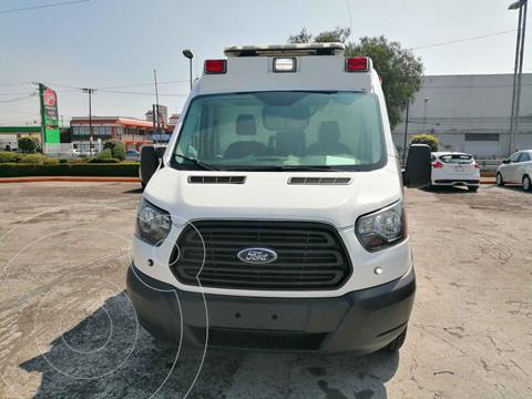 Ford Transit Gasolina Van Mediana usado (2017) color Blanco precio $449,000