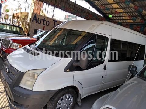 Ford Transit Diesel Chasis Larga usado (2012) color Blanco precio $189,500