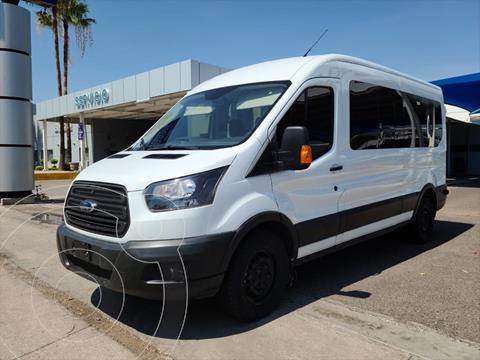 Ford Transit Diesel 15 Pasajeros usado (2019) color Blanco precio $470,000