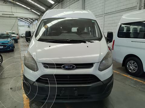 Ford Transit Gasolina 15 Pasajeros usado (2014) color Blanco precio $270,000