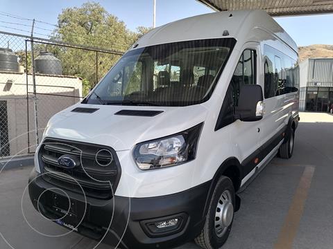 Ford Transit Diesel Bus 18 Pasajeros usado (2020) color Blanco Nieve precio $884,500