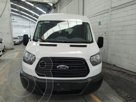 Ford Transit Gasolina Bus 15 Pasajeros usado (2017) color Blanco precio $439,900