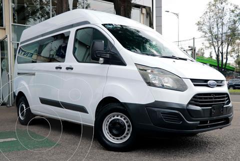 Ford Transit Gasolina 15 Pasajeros usado (2014) color Blanco precio $267,000