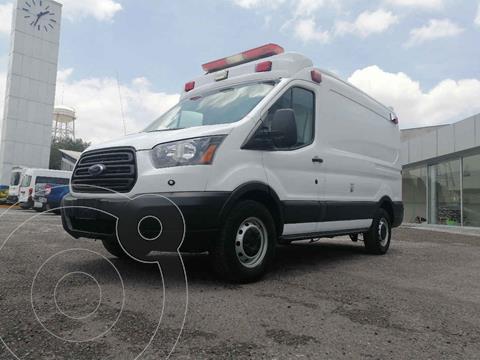 Ford Transit Gasolina Van Mediana usado (2017) color Blanco precio $434,000