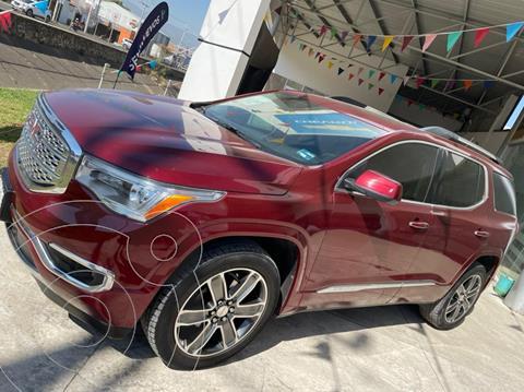 GMC Acadia Denali usado (2017) color Rojo precio $469,000