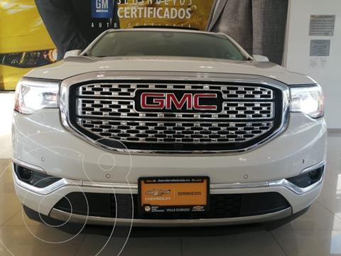 GMC Acadia Denali usado (2017) color Blanco precio $455,000
